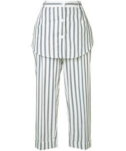 Monse | Striped Skirt Trousers Size 4