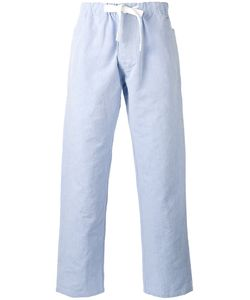 Joseph | Abington String Tie Relaxed Trousers 50 Cotton/Linen/Flax
