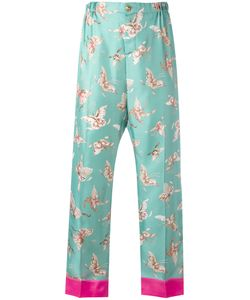 F.R.S For Restless Sleepers | Butterfly Print Trousers