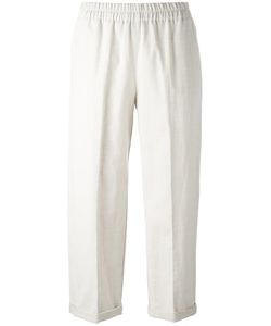 Forte Forte | Cropped Trousers 2 Cotton/Linen/Flax