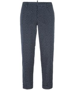 Dsquared2 | Square Pattern Capri Trousers 40 Polyester