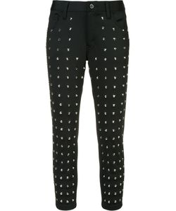 JUNYA WATANABE COMME DES GARCONS | Junya Watanabe Comme Des Garçons Studded Cropped Trousers Size Small