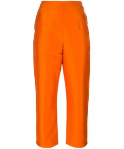 Isa Arfen   Classic Cropped Trousers 8 Polyester/Polyamide/Cotton