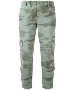 Current/Elliott | Cropped Cargo Trousers 25 Cotton