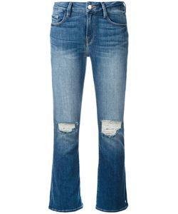 Frame Denim | Cropped Flared Denim Jeans