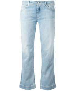 THE SEAFARER | Bootcut Cropped Jeans 25 Cotton/Polyester