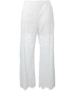 MSGM | Lace Panel Trousers Size 42