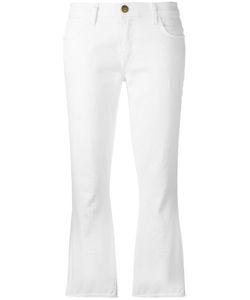 Current/Elliott | Fla Cropped Jeans 31 Cotton/Spandex/Elastane