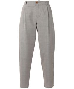 A Kind Of Guise | Tapered Trousers Cotton/Viscose/Virgin