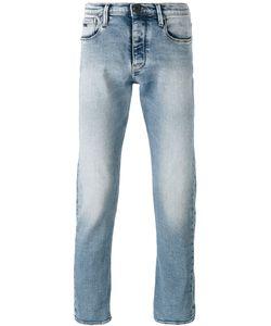 Emporio Armani | Straight Leg Faded Jeans Size 32