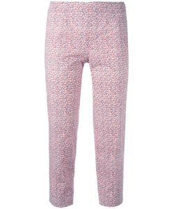 Piazza Sempione | Audrey Cropped Trousers 44 Cotton/Spandex/Elastane