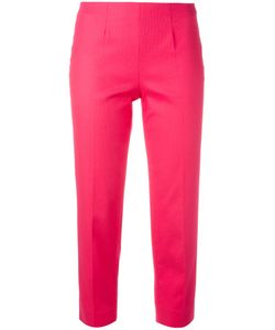 Piazza Sempione | Audrey Cropped Trousers 48 Cotton/Spandex/Elastane