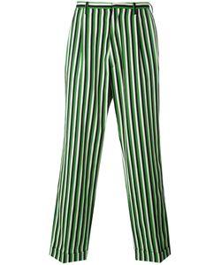 WALTER VAN BEIRENDONCK VINTAGE | Walter Van Beirendonck Striped Loose Fit Trousers