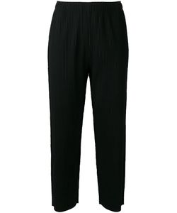 Issey Miyake Cauliflower | Cropped Trousers Polyester