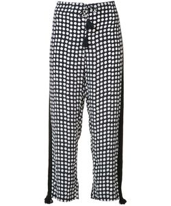 FIGUE | Seville Polka Dot Trousers Small Silk