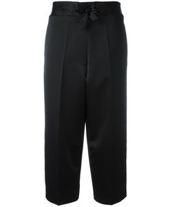 Victoria Beckham | Pyjama Cropped Trousers 8 Silk/Viscose