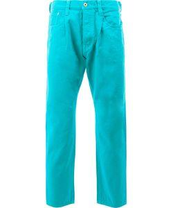 GANRYU COMME DES GARCONS   Straight Trousers Large Cotton