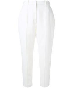 Alexander McQueen | Cropped Tailo Trousers 42 Virgin Wool/Cupro