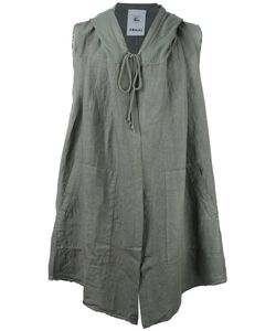 Lost & Found Rooms | Sleeveless Draped Hoodie Xxs