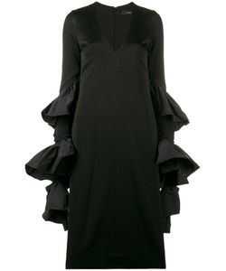 Ellery | Molotov Ruffle Sleeve Dress