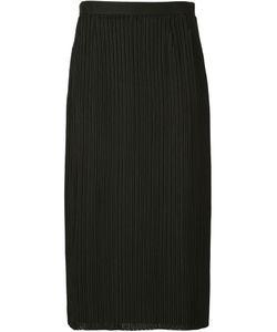 Julien David | Embroidered Ribbed Skirt