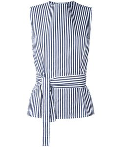 Federica Tosi | Belted Stripe Top