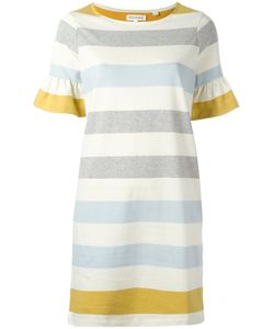 Chinti And Parker | Fla Sleeve Shift Dress Xs Cotton