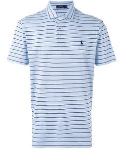 Polo Ralph Lauren | Logo Embroidered Striped Polo Shirt Size Xl