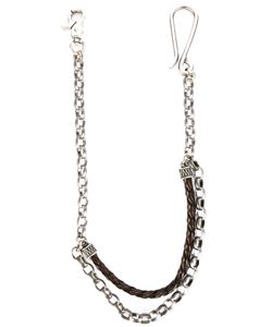 Andrea D'amico | Interlaced Laye Keychain Leather