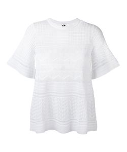Missoni | M Knitted T-Shirt 48 Cotton/Polyamide/Polyester/Viscose