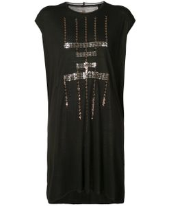 Rick Owens Lilies | Sequin Pattern Sleeveless Dress