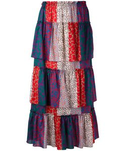 Sonia Rykiel | Layered Patchwork Skirt Size 36