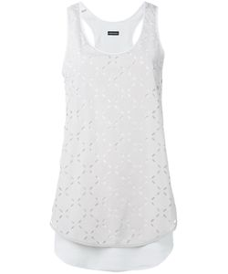 Emporio Armani | Perforated Detail Top 38