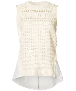 Veronica Beard | Mermaid Shirt Trim Top Size Medium