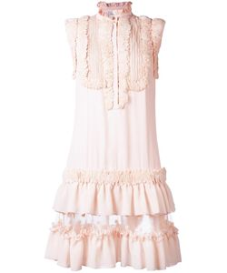 Zuhair Murad | Ruffled Dress 38 Acetate/Silk/Polyester