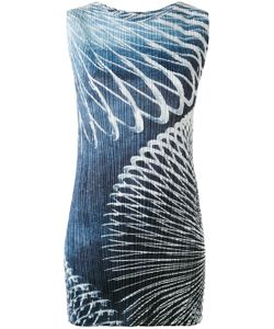 PLEATS PLEASE BY ISSEY MIYAKE | Slinky Print Dress