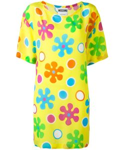 Moschino | Flower Power Dress 44 Silk