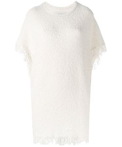 By Malene Birger | Elasia Fringed Bouclé Top Size Xs