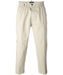 Dsquared2 | Cropped Dean Trousers 46 Cotton/Polyurethane/Polyester