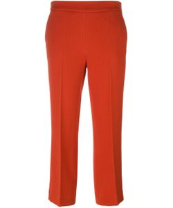 Odeeh | Slim Fit Cropped Trousers