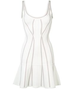 Hervé Léger | Flared Mini Dress Size Small