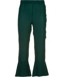 Piamita | Pandora Flare Hem Cropped Trousers