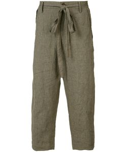 ZIGGY CHEN | Cropped Trousers 48 Linen/Flax