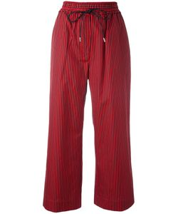 3.1 Phillip Lim | Striped Cropped Trousers 2 Silk/Cotton