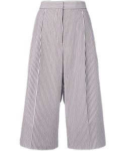 Ports | 1961 Striped Cropped Trousers 42 Cotton