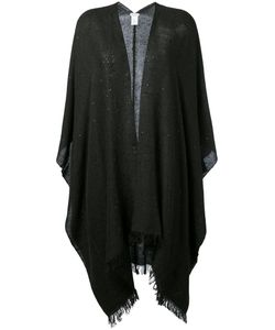 Brunello Cucinelli   Knitted Sequin Cape