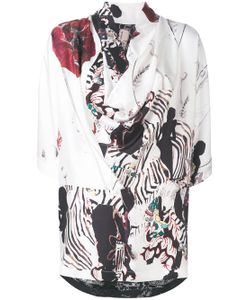 Antonio Marras | Printed Asymmetric Blouse