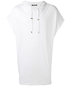 Balmain | Loose Fit Sleeveless Hoodie Large Cotton/Linen/Flax