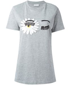 Chiara Ferragni | Eye Print T-Shirt Size Medium