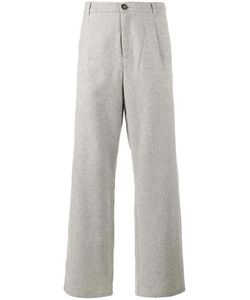 Lot 78 | Lot78 Wide-Leg Trousers 36 Wool/Polyester/Other Fibers
